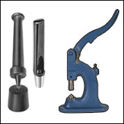 Grommet Inserting Dies & Hole Cutters